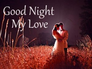 Cute good night couple images