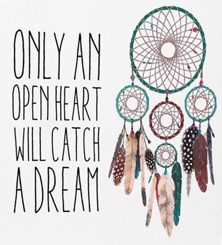 Quotes That Go With Dream Catchers Dream Catcher Quote The Random Vibez 34