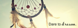 Dream Catcher Quotes FB Cover
