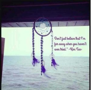 Dream catcher the heirs quote