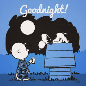 Good Night Images with Cartoons