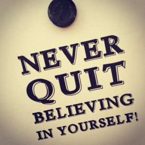 Motivational believing in yourself quotes