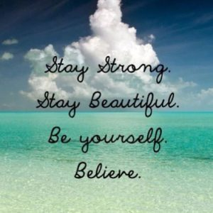 Strong Believe in Yourself Quotes