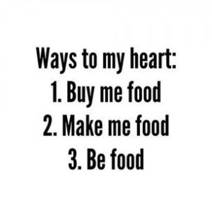 Witty quotes about Food