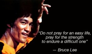 Bruce Lee Quotes Srength