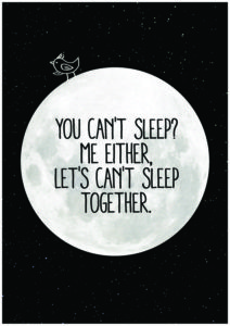 Humor I can't sleep Quotes