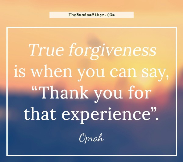 true forgiveness Forgiveness can be defined as the foregoing of resentment or revenge when the wrongdoer's forgiveness can encompass many different things, from merely accepting someone's apology to.