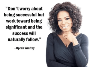 Oprah Winfrey Quotes on Life Success