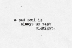 Sad Can't Sleep Quotes