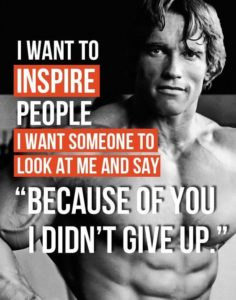 Amazing Quotes by Arnold Schwarzenegger