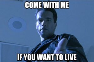 Arnold Schwarzenegger Terminator Movie Quotes