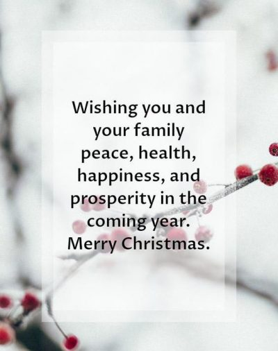 Christmas Quotes Wishes For Family