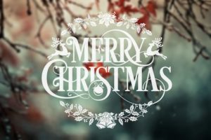 Merry Christmas Greeting Wallpaper