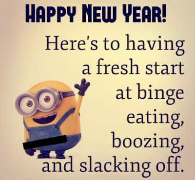 New Year Minion Quotes