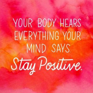 Stay Positive in Life