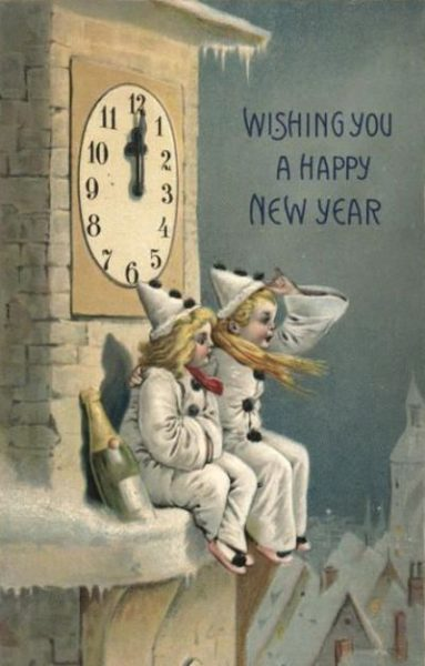 Vintage Happy New Year Images