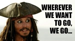 Jack Sparrow Quotes about Life