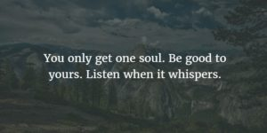 Beautiful Quotes on Soul