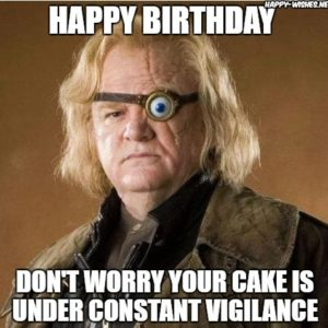 Funny Harry Potter Birthday Memes