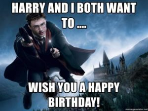 Happy Birthday Meme Harry Potter