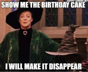 Harry Potter Birthday Funny Images