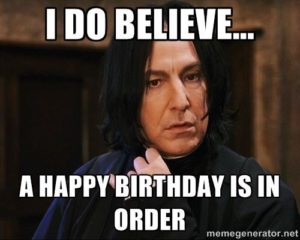 Harry Potter Birthday Meme