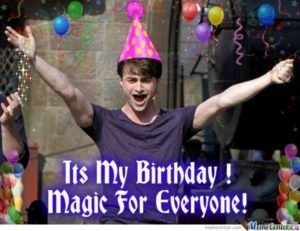 Harry Potter Meme Happy Birthday