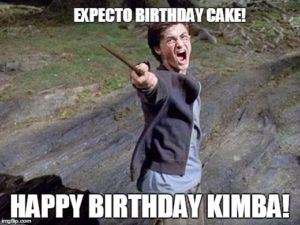 Top Harry Potter Birthay Meme