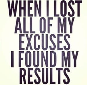Inspirational Quotes about Excuses