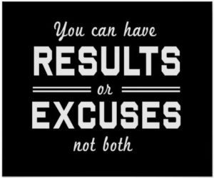 Results n Excuses Quotes