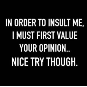 Value Your Opinion Quotes