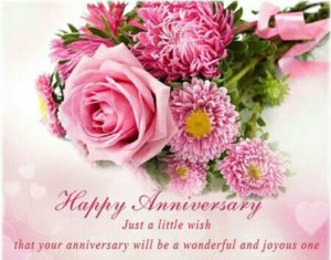Wishing Happy Anniversary