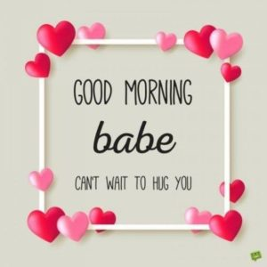 Good Morning My Love Quotes for Her