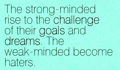 Strong Minded People Quotes