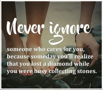 Being Ignored quotes for Him