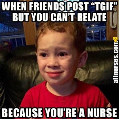 Friday Meme for Nurses
