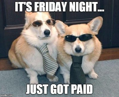 Friday Pay Day Meme