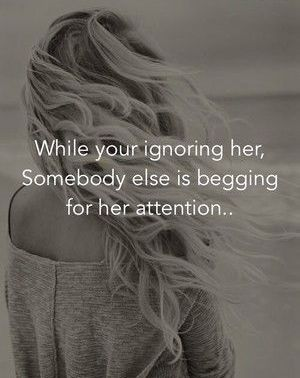 Ignoring Quotes for Her