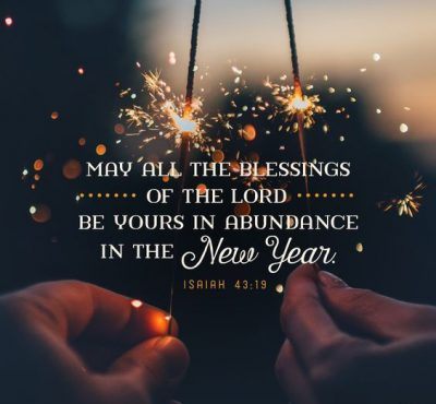 Bible Verses For New Year