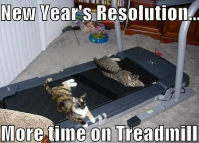 Famous New Year's Resolution Meme