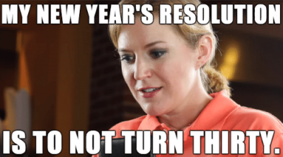 Funny Meme On New Year's Resolution