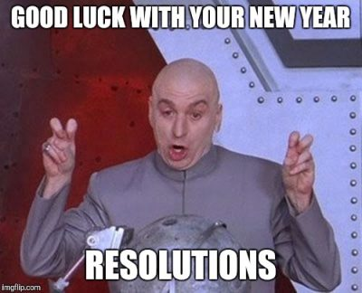 Good Luck New Year Meme