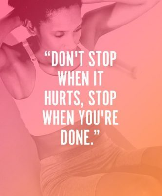 Gym Workout Motivation Quote