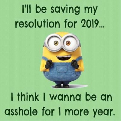 Hilarious New Year's Resolution Quotes