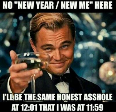 Hilarious Sayings On New Year's Resolution