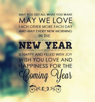 Inspirational New Year Wishes For Friends