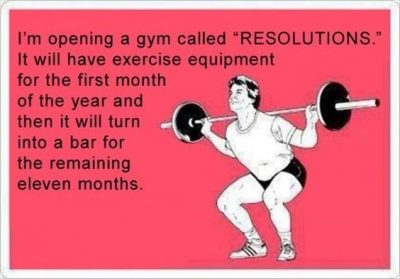 My New Year's Resolution Funny