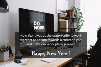 New Year Greetings For Colleagues