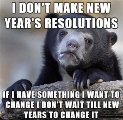 New Year Resolution Memes