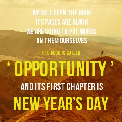 New Year Wishes Inspirational